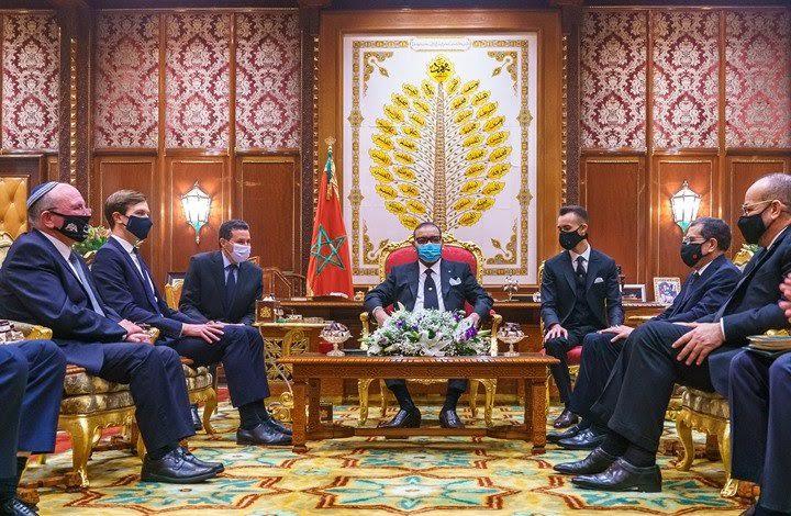 Koning Mohammed VI ontvangt Jared Kushner
